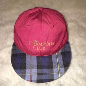 VINTAGE | THE CHAMPIONS CLUB | LEATHER STRAPBACK